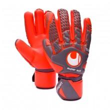 Guante Aerored Supersoft HN Dark grey-Fluor red
