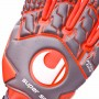 Guante Aerored Supersoft HN Dark grey-Fluor red