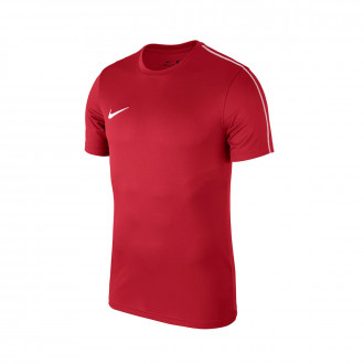 Maillot  Nike Park 18 Training m/c Niño University red-White