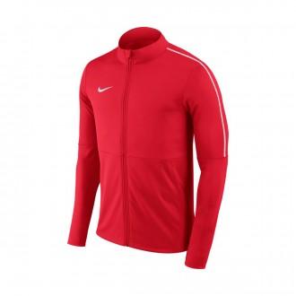 Casaco Nike Park 18 Knit Niño University red-White