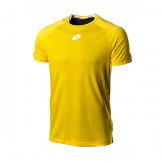 Camiseta  Lotto Delta Plus m/c Yellow-White