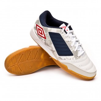 Zapatilla  Umbro Chaleira Liga IC White-Grey-Black