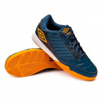Zapatilla  Umbro Chaleira Liga IC Navy-Gold
