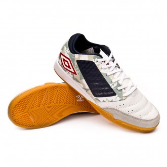 Zapatilla  Umbro Chaleira Pro IC White-Grey-Black