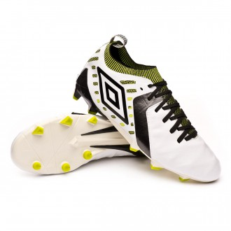 Chaussure de foot  Umbro Medusae II Elite HG White-Grey-Black