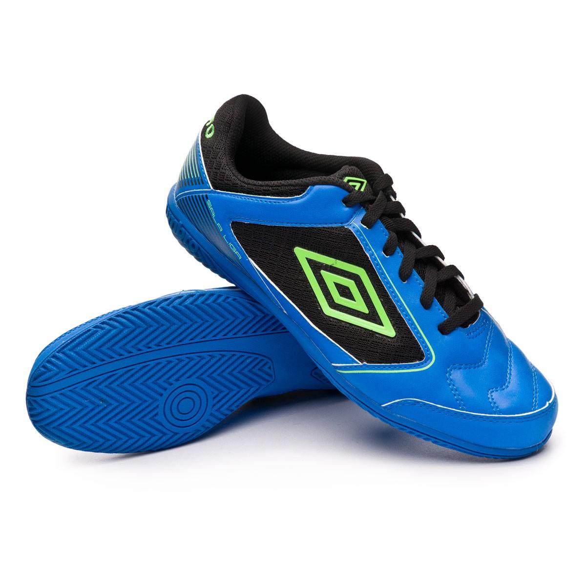 625a0ab9320 Futsal Boot Umbro Sala Liga IC Blue-Black - Football store Fútbol Emotion