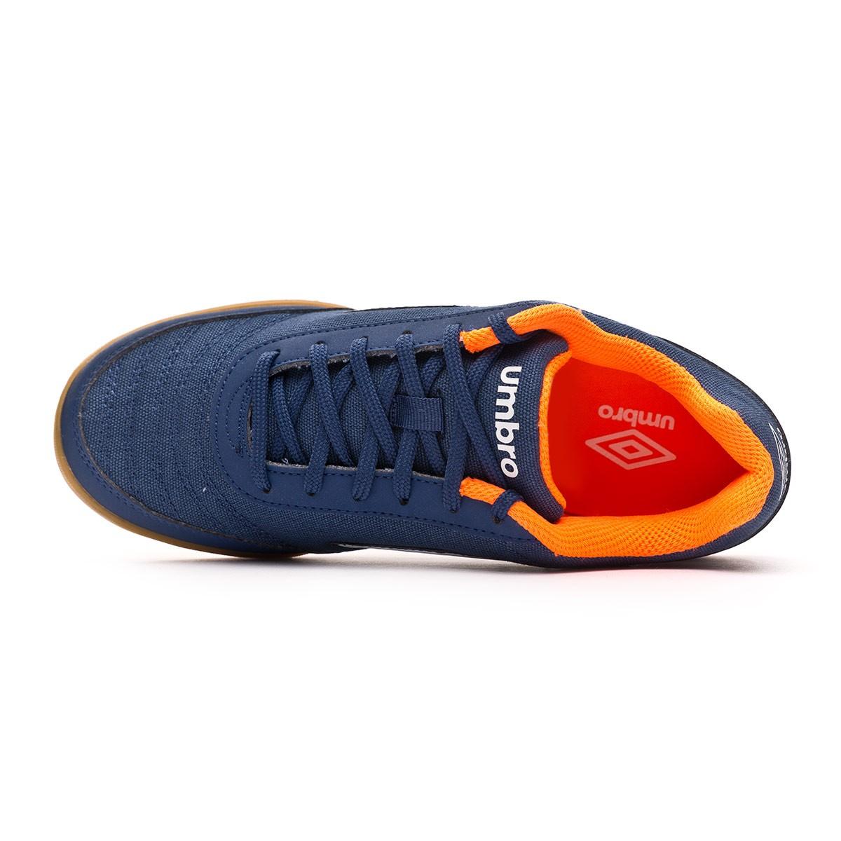 0b0a09b5743 Futsal Boot Umbro Futsal Street V IC Navy - Football store Fútbol Emotion