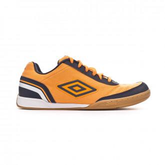 Zapatilla  Umbro Futsal Street V IC Orange-Navy