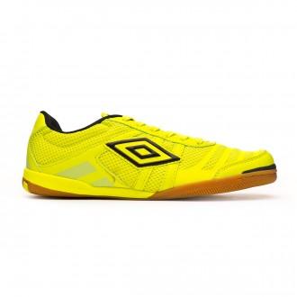 Chaussure de futsal  Umbro Futsal Tunder IC Volt-Navy