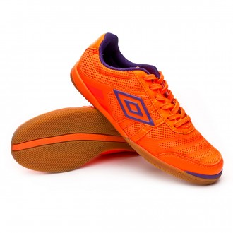 Zapatilla  Umbro Futsal Tunder IC Orange fluor