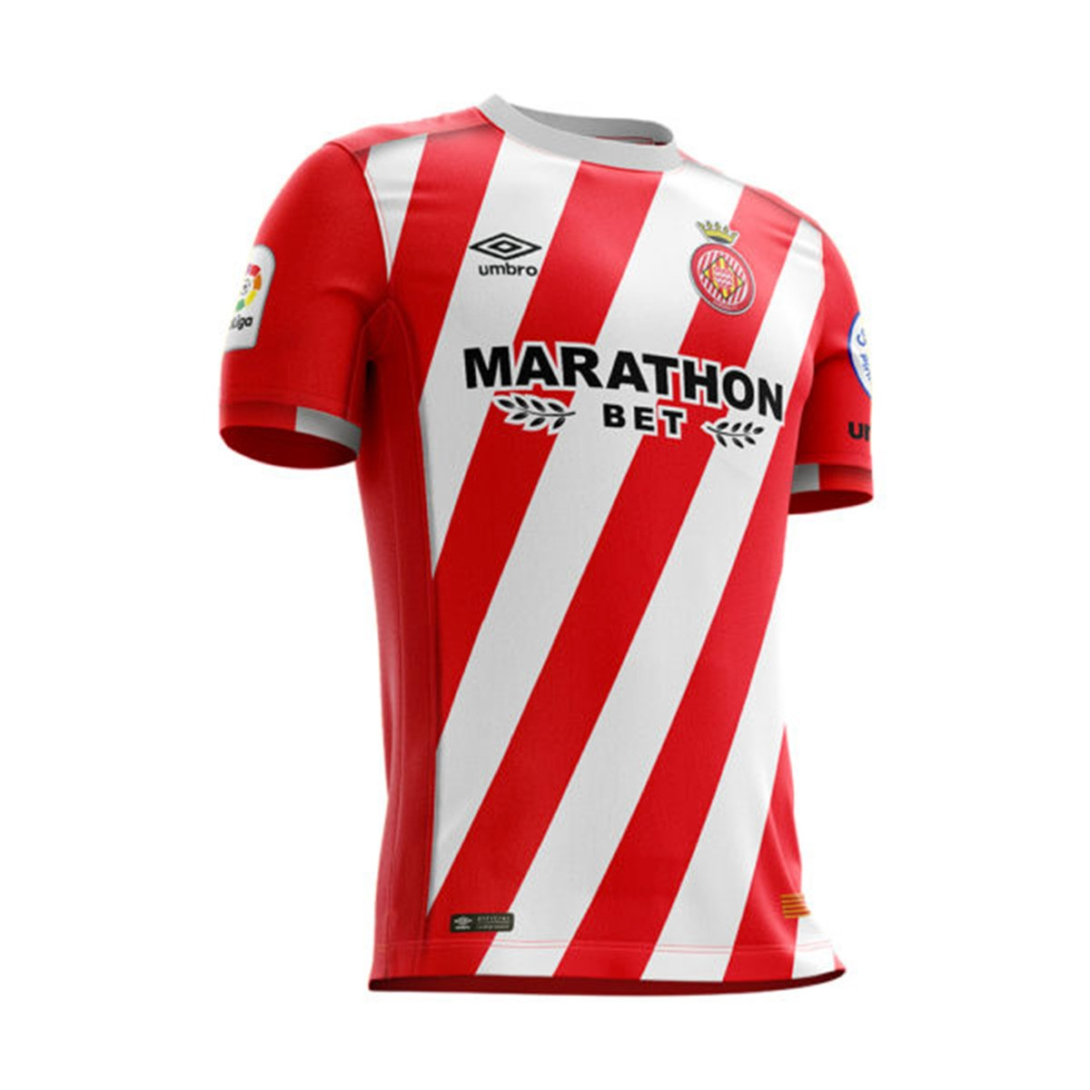 Jersey Umbro Kids Girona FC 2018-2019 Home Red - Soloporteros es ... f396fd9eaa6