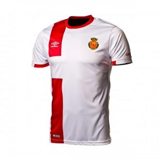 Camiseta  Umbro RCD Mallorca Segunda Equipación 2018-2019 Blanco-rojo