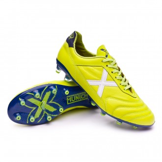 Boot  Munich Mundial 2.0 Lime-White