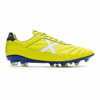 Football Boots  Munich Mundial 2.0 Lime-White