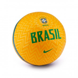 Ball  Nike Brazil Prestige 2018-2019 Samba gold-Lucky green