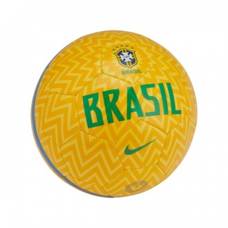 Ball  Nike Mini Brasil Skills 2018-2019 Samba gold-Lucky green soar