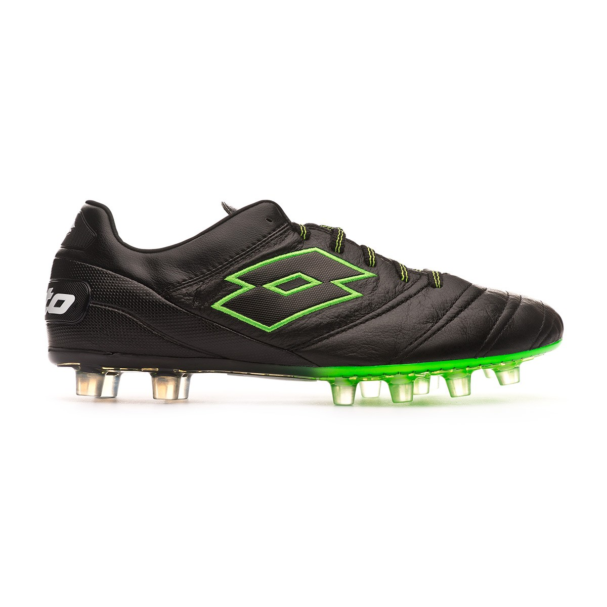 hot sales 098d2 79b21 Football Boots Lotto Stadio 45 FG Black-Mint - Football store Fútbol Emotion