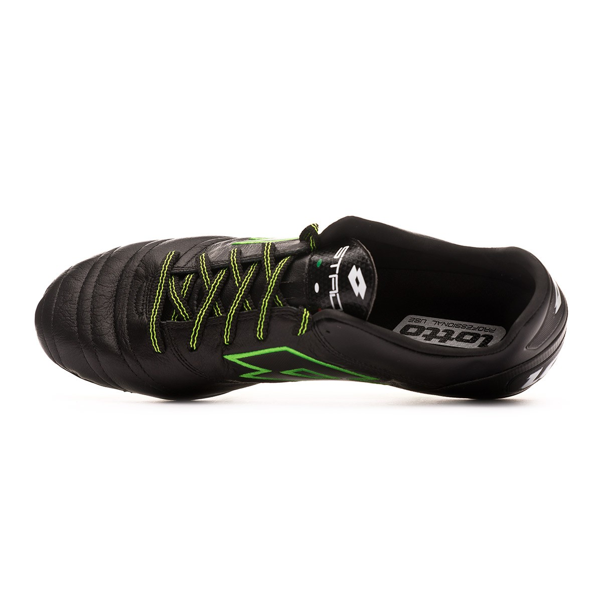 buy online 34e71 f8432 Football Boots Lotto Stadio 45 SGX Black-Mint - Tienda de fútbol Fútbol  Emotion