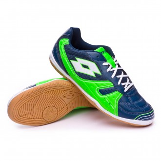 Futsal Boot  Lotto Tacto 500 III ID Blue city-White