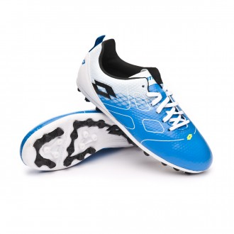 Bota  Lotto Maestro 700 AG Niño Blue atletic-Black