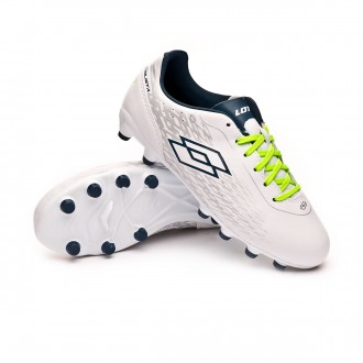 Football Boots  Lotto Kids Solista 700 FG White-Blue city