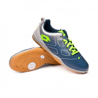 Chaussure de futsal  Lotto Maestro 700 ID Niño Blue city-Mint