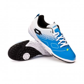 Zapatilla  Lotto Maestro 700 Turf Niño Blue atletic-Black