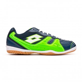 Scarpe Lotto Tacto 500 III ID Junior Blue city-White