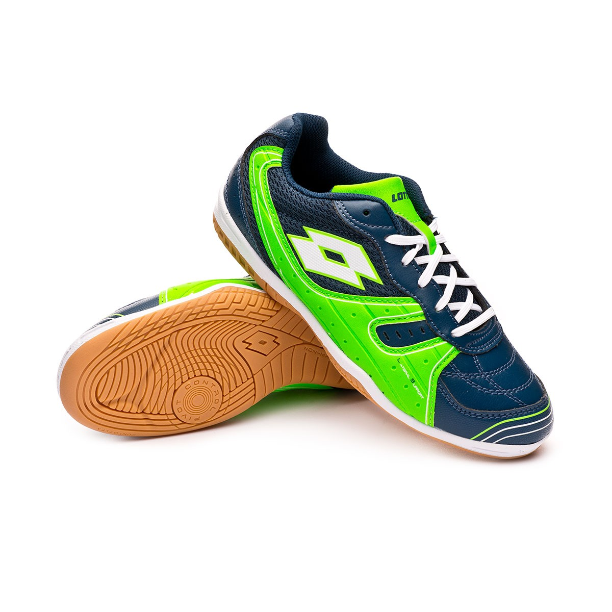 c8371f5ce Futsal Boot Lotto Kids Tacto 500 III ID Blue city-White - Football store  Fútbol Emotion