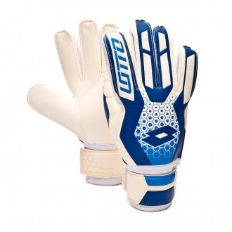 Guante  Lotto Spider 500 White-Royal