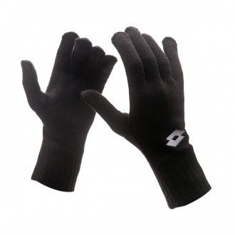 Guante  Lotto Cross Glove KN Black-White