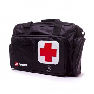 Bag  Lotto Team First Aid Black-White-Red