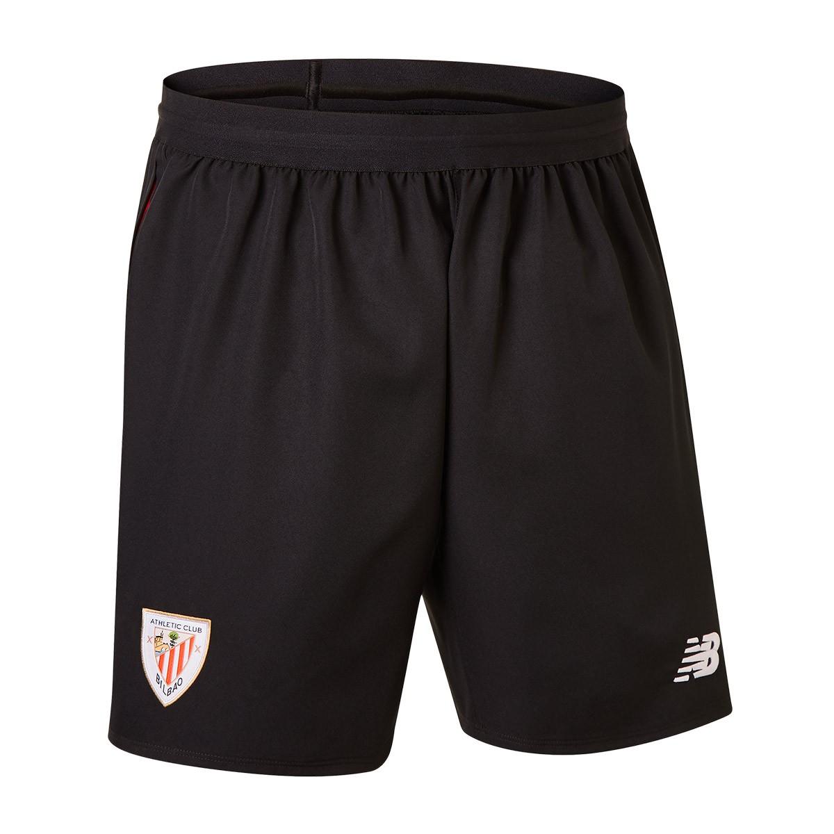 3a157846bb679 Pantalón corto New Balance AC Bilbao Primera Equipación 2018-2019 Black -  Tienda de fútbol Fútbol Emotion