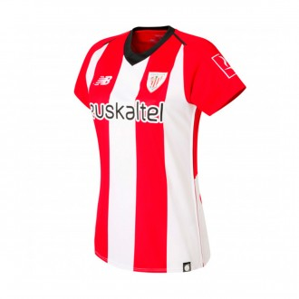 Jersey  New Balance Woman AC Bilbao 2018-2019 Home White-Red