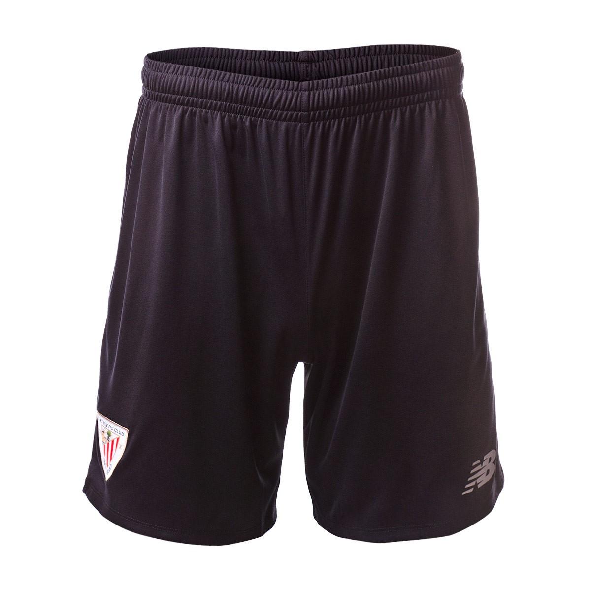 New Balance Pantal/ón corto AC Bilbao Primera Equipaci/ón 2018-2019 Black