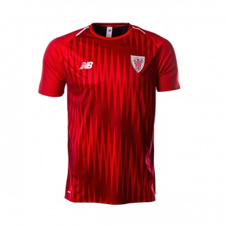 Jersey  New Balance AC Bilbao Pre-Match 2018-2019 Red