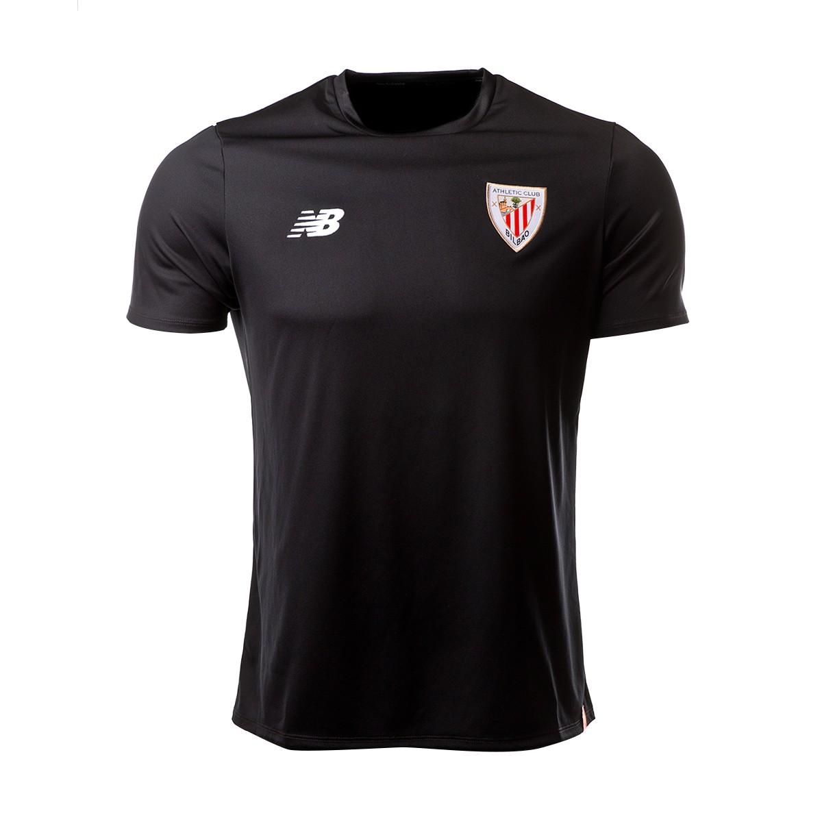 Camiseta New Balance AC Bilbao 2018-2019 Black - Soloporteros es ahora  Fútbol Emotion 8a2702dcf20a7