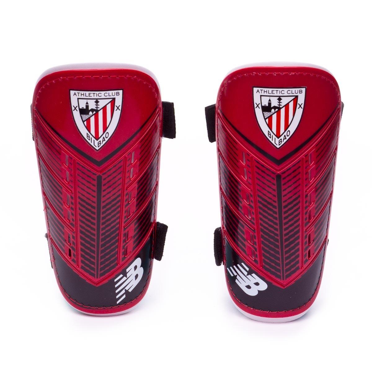 Espinillera New Balance AC Bilbao 2018-2019 Niño Red-Black ... 3717339469573