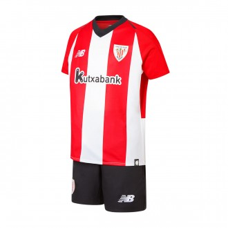 Kit  New Balance Kids AC Bilbao 2018-2019 Home White-Red