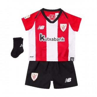 Conjunto  New Balance Bebe AC Bilbao Primera Equipación 2018-2019 White-Red