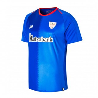 Playera New Balance AC Bilbao Segunda Equipación 2018-2019 Niño Azul