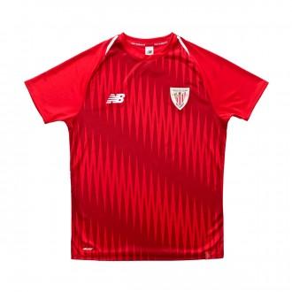Camisola New Balance AC Bilbao Pre-Match 2018-2019 Niño Red