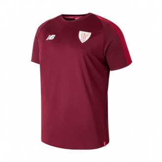 Camiseta  New Balance AC Bilbao Training 2018-2019 Niño Garnet