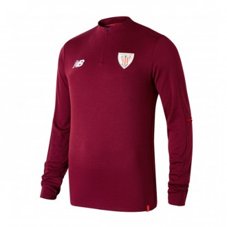 Sweatshirt New Balance AC Bilbao Training 2018-2019 Crianças Garnet