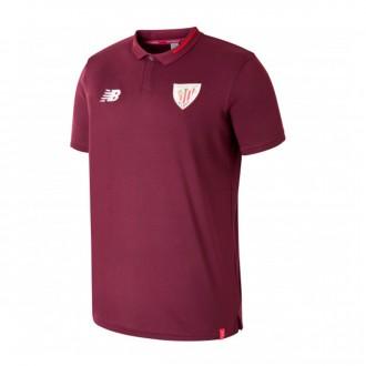 Polo shirt  New Balance Kids AC Bilbao Essentials 2018-2019  Garnet