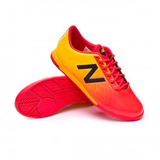 Chaussure de futsal  New Balance Furon 4.0 Dispatch Indoor Niño Flame