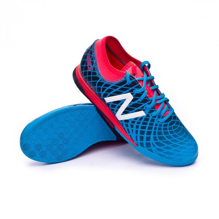 32bbf11b Futsal Boot New Balance Kids Tekela 1.0 Magique Indoor Galaxy blue ...