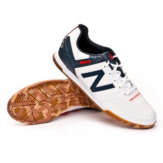 Futsal Boot  New Balance Audazo Strike 3.0 Futsal White grey