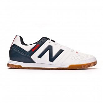 Zapatilla New Balance Audazo Strike 3.0 Futsal White grey