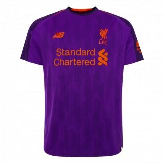 Camiseta  New Balance Liverpool FC Segunda Equipación 2018-2019 DV